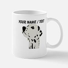 Custom Dalmation Head Mug