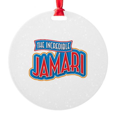 The Incredible Jamari Ornament
