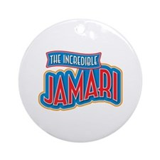 The Incredible Jamari Ornament (Round)