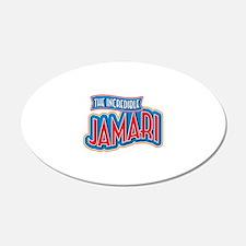 The Incredible Jamari Wall Decal
