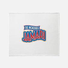 The Incredible Jamari Throw Blanket