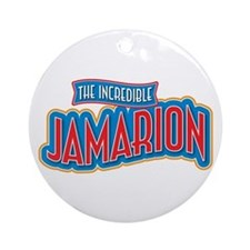 The Incredible Jamarion Ornament (Round)