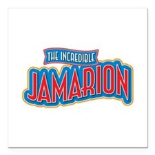 """The Incredible Jamarion Square Car Magnet 3"""" x 3"""""""