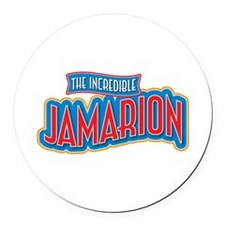 The Incredible Jamarion Round Car Magnet