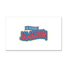 The Incredible Jamarion Rectangle Car Magnet
