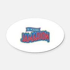 The Incredible Jamarion Oval Car Magnet