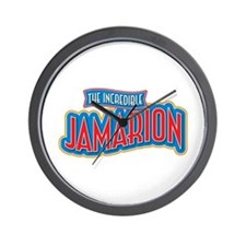 The Incredible Jamarion Wall Clock
