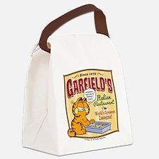 Garfield's Italian Restaurant Canvas Lunch Bag
