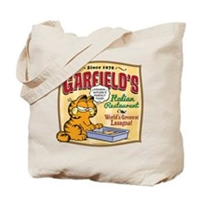 Garfield's Italian Restaurant Tote Bag