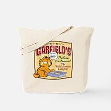 Garfield's Italian Restaurant Tote Bag