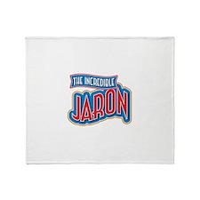 The Incredible Jaron Throw Blanket