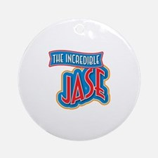 The Incredible Jase Ornament (Round)