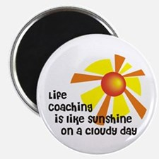 Life Coaching Sunshine Magnet