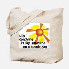 Life Coaching Sunshine Tote Bag