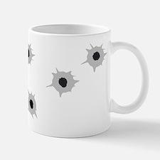 Bullet Holes Small Small Mug