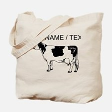 Custom Spotted Cow Tote Bag