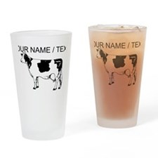 Custom Spotted Cow Drinking Glass