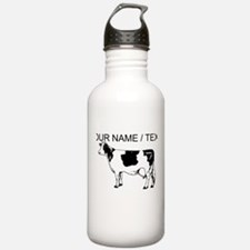 Custom Spotted Cow Water Bottle