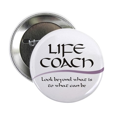 Life Coach. Look Beyond Button