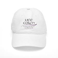 Life Coach. Look Beyond Baseball Cap