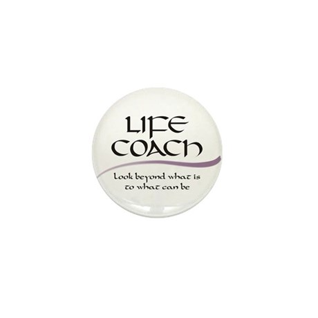 Life Coach. Look Beyond Mini Button