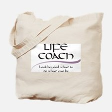 Life Coach. Look Beyond Tote Bag