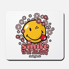 smile floral Mousepad