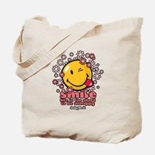 smile floral Tote Bag