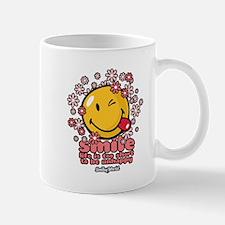 smile floral Small Mug