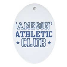 Jameson Oval Ornament