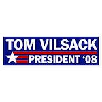 Tom Vilsack 2008 Bumper Sticker