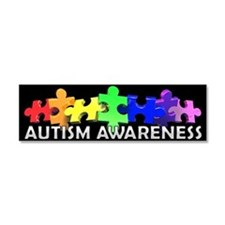 Unique Autism Car Magnet 10 x 3