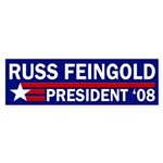 Russ Feingold: President '08 car sticker