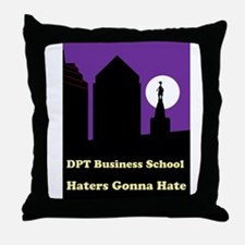 Cute Hate computers Throw Pillow