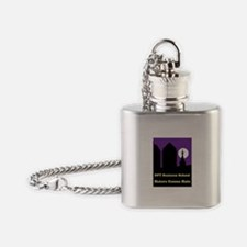 Cute Hate computers Flask Necklace