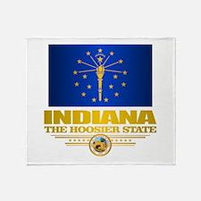 Indiana Pride Throw Blanket
