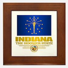 Indiana Pride Framed Tile