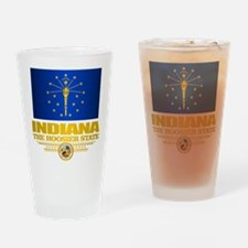 Indiana Pride Drinking Glass