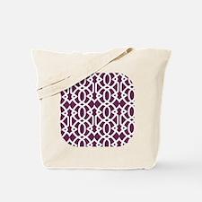 Alyssum & White Trellis Tote Bag