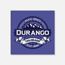 "Durango Midnight Square Sticker 3"" x 3"""