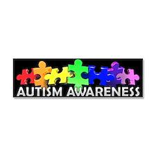 Unique Autism Car Magnet 10 x 3