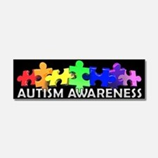 Funny Autistic syndrome Car Magnet 10 x 3
