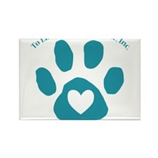 To Love a Canine Rescue, Inc. logo Rectangle Magne