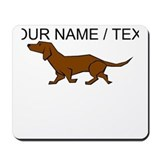 Daschund Mouse Pads