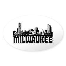 Milwaukee Skyline Decal