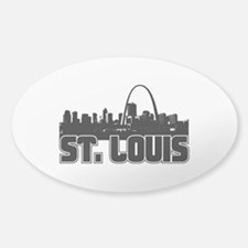 St. Louis Skyline Decal