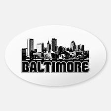Baltimore Skyline Bumper Stickers