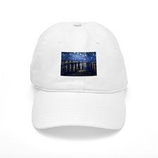 Starry Night Over the Rhone Baseball Cap