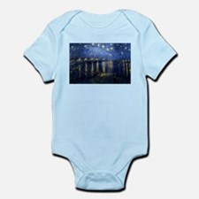 Starry Night Over the Rhone Infant Bodysuit