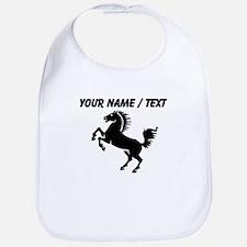 Custom Black Horse Bib